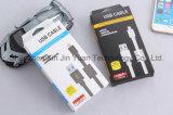 Cable de carga rápido del USB de la sinc. de los datos con el anillo magnético para el androide