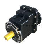 Caja de engranajes helicoidal negra del reductor de velocidad Src04 sin el motor eléctrico