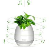 승인을%s 가진 지능적인 음악 화분 LED 가벼운 무선 Bluetooth 스피커