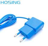 Carregador da parede do USB da fábrica 5V 1A do OEM colorido com cabo para o Ios e o telefone móvel de Andriod