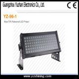 RGBW는 96pcsx3w LED 벽 세탁기 빛을 방수 처리한다