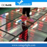 2016 diodo emissor de luz colorido Dance Floor do partido 3D RGB da barra de KTV