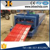 Kxd 840の風邪の屋根アルミニウムは機械を形作るタイルロールを艶をかけた