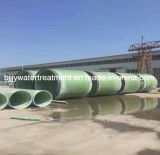 2017最も熱い販売FRP/GRPのガラス繊維合成ポリエステル水処理の管