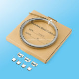200/300 Ss L tipo clip de las bandas para liar del cable
