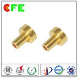 Покрынные золотом части Lathe CNC в электронных продуктах