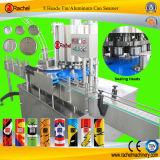 Máquina enlatada alumínio da selagem da bebida