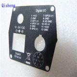 Parte que trabaja a máquina, panel modificado para requisitos particulares, trasero, capa del polvo, negro, pantalla de seda