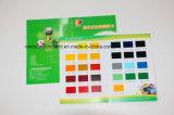 Tarjeta impresa modificada para requisitos particulares del color de papel para hacer publicidad