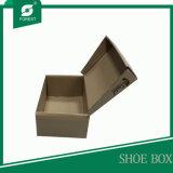 Cadre de empaquetage de chaussure ondulée ouverte facile de pliage