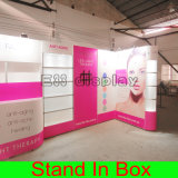DIY postage Easy-Assembly and Dismantle Modular Green Exhibition Booth