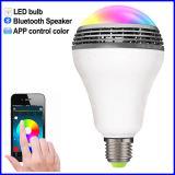 APP van de slimme LEIDENE Spreker Bluetooth van de Bol de Lichte Draadloze Kleur van de Controle
