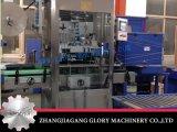 Automatische flüssige Maschine mit dem Flaschen-füllenden Mit einer Kappe bedecken, das Verpacken beschriftend