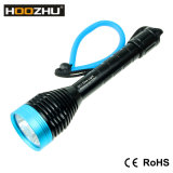 A luz 1000lumens máximo do mergulho do diodo emissor de luz do CREE de Hoozhu D11 Waterproof 100meters