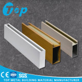 Profil-quadratischer Kasten-lineare Decken-Dekoration des Aluminium-2017