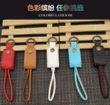 Cabo liso do USB dos dados coloridos de Charger&Transfer para o iPhone
