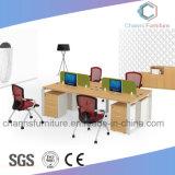 2.4 Poste de travail de Tableau de meubles de bureau de structure en métal de M