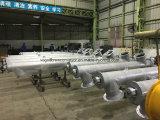 het u-Type Sicoma van 407mm Transportband van de Schroef van de Buis de Spiraalvormige