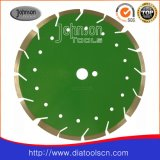 Алмазный резец - лазер увидел лезвие (зеленый бетон: 300mm)