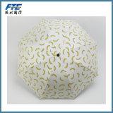 Paraguas plegable impreso insignia de encargo de la fruta