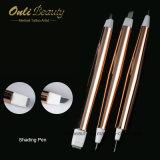 3部分によってはシェーディングのペンのMicrobladingの使い捨て可能なツールが殺菌した