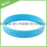 Braccialetto degli accessori di modo del braccialetto di sport, braccialetto su ordinazione all'ingrosso del silicone di marchio