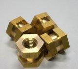 Maschinell bearbeitender/maschinell bearbeitete Messing-/Kupfer-/Bronzemaschinen-Teile CNC