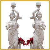 Серое животное льва скульптуры гранита высекая для украшения сада
