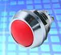 Interruptor de pulsador con el LED