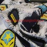 Tessuto di cotone di stampa del jacquard per l'indumento del pannello esterno del cappotto di vestito dalla donna