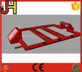 تصميم جديدة [فووتبلّ فيلد] أحمر قابل للنفخ لأنّ رياضة لعبة