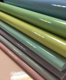 다채로운 연약한 특허 부대, 단화, 훈장을%s 합성 PU 가죽, (HS-Y43)