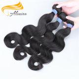広州の製造者9Aの等級の自由なブラジルの毛の織り方