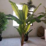 Горячее домашнее декоративное искусственное банановое дерево завода с 27 листьями
