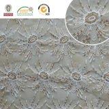 Meltpoly Stickerei mit Lurex Spitze-Gewebe-Kleid-Gewebe