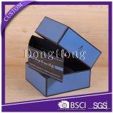 Rectángulo de empaquetado de calidad superior de encargo de lujo de la cubierta del regalo
