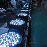 安い価格DJは軽いRGBW 54X3w LEDの同価を上演する