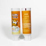 Dentífrico macio cosmético plástico do recipiente da câmara de ar