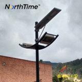 Détecteur de mouvement infrarouge et réverbère solaire de capteur de lumière 30W