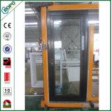 Chinesische Aluminiumvorderseite-glasierte französische Tür-außendoppeltes