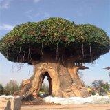 기술설계 섬유유리 가짜 반얀 나무