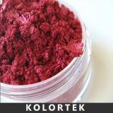 Pigmenti variopinti della perla del polacco di chiodo, polvere di mica naturale per il chiodo cosmetico