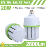 20W E27 E40 Aluminiummais-Licht der flosse-LED