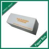 Caja de embalaje blanca del papel acanalado de Matt (FP8039134)