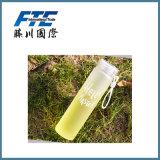 Botella de agua barata de encargo 2017