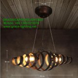 La decoración postmoderna del nuevo diseño enciende la lámpara pendiente del restaurante (GD-7432-1L)