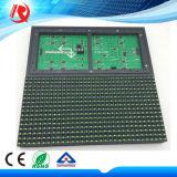 IP65 impermeável Semioutdoor ao ar livre que anuncia o único módulo do indicador de diodo emissor de luz da cor verde P10