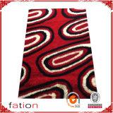 Estera antideslizante de la alfombra lanuda mullida