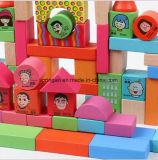72 brinquedos geométricos DIY dos blocos de apartamentos da forma do PCS
