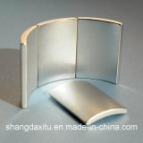 Magneet NdFeB van het Segment van de Turbogenerator van de wind de Permanente. N33-N52; 38m48m; 35h-48h; 30sh-45sh; 30uh-45uh; 38eh